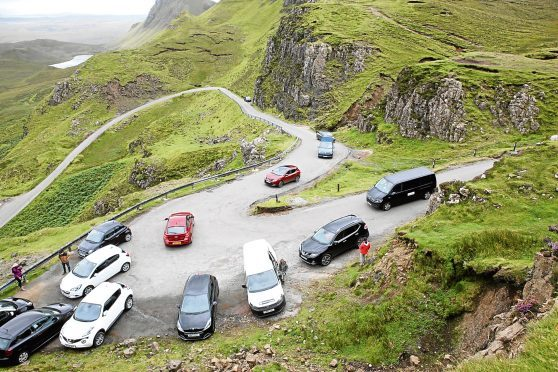The Quiraing on the Isle of Skye