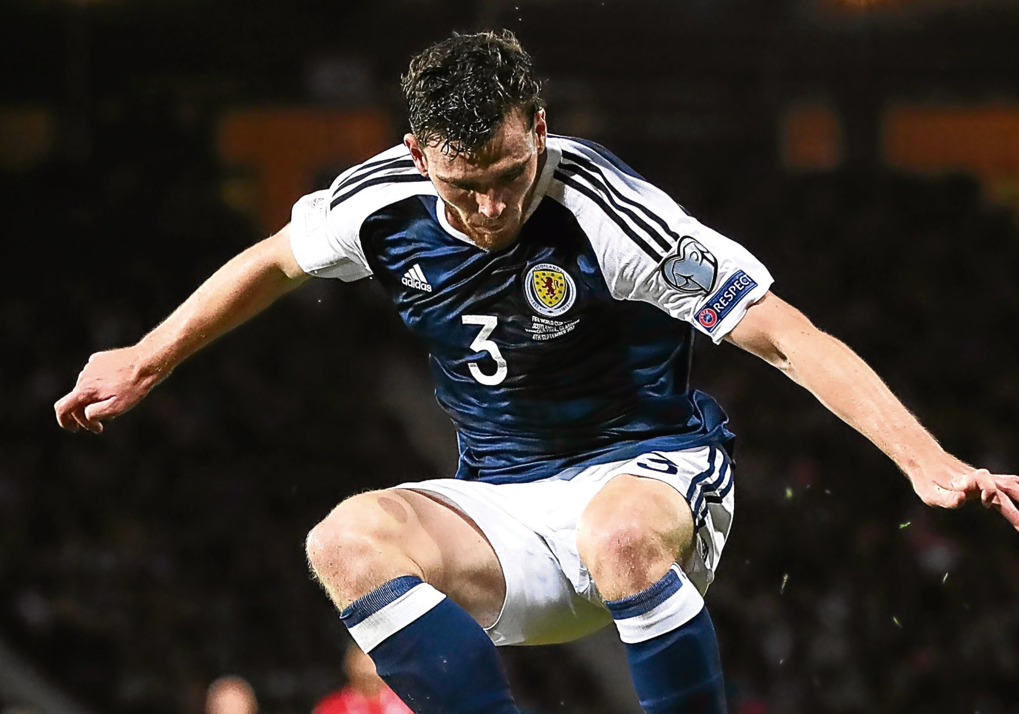 Andy Robertson of Scotland