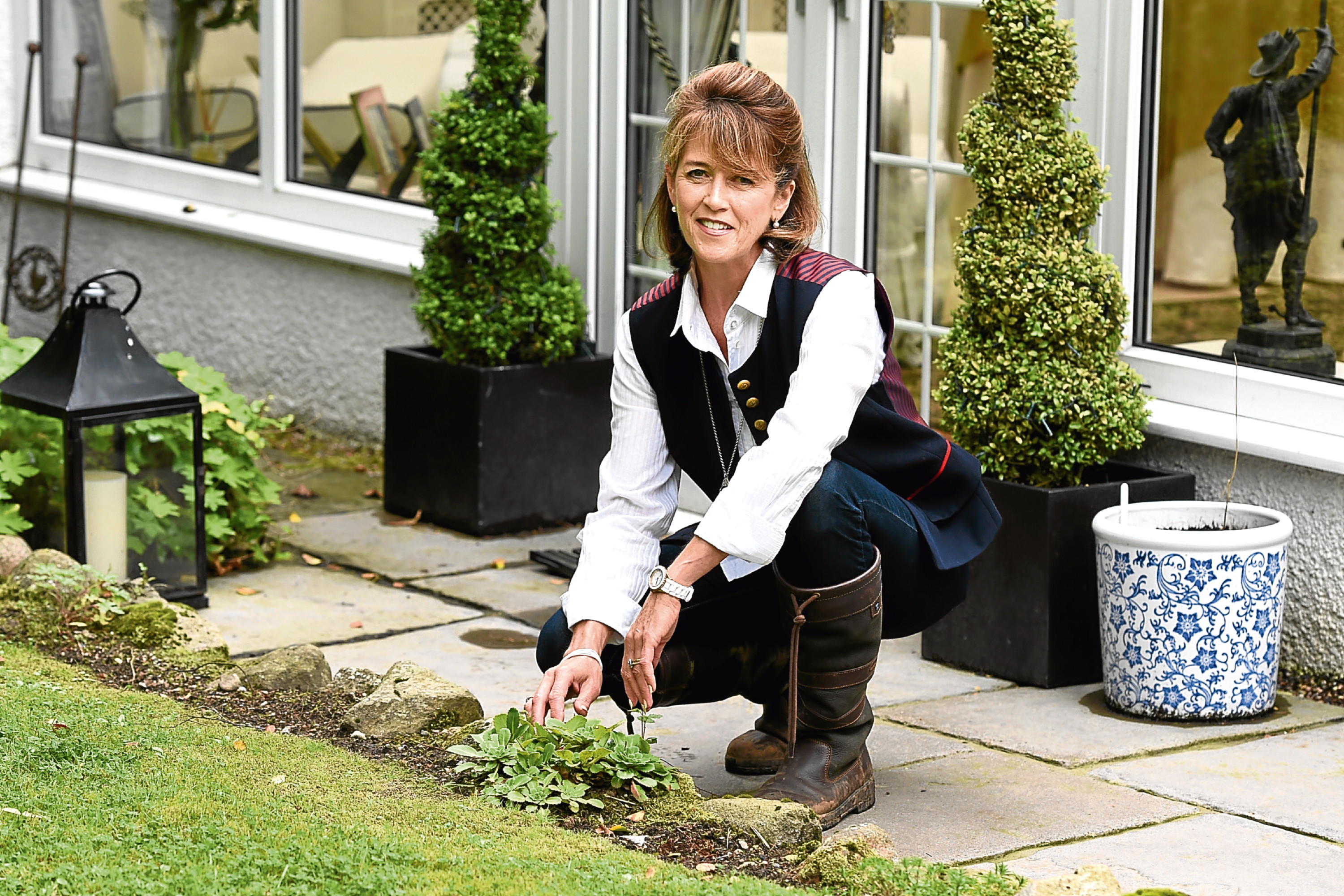 Garden designer, Kirsty McLean, who will be writing about revamping your garden.  Picture by Jim Irvine 28-08-17