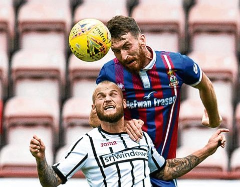 Joe Chalmers could slot in at left back for Caley Thistle.