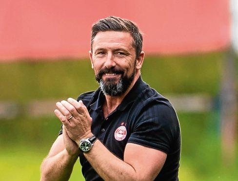 Dons manager Derek McInnes