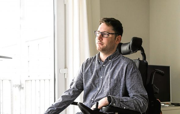 MND sufferer Gordon Aikman.