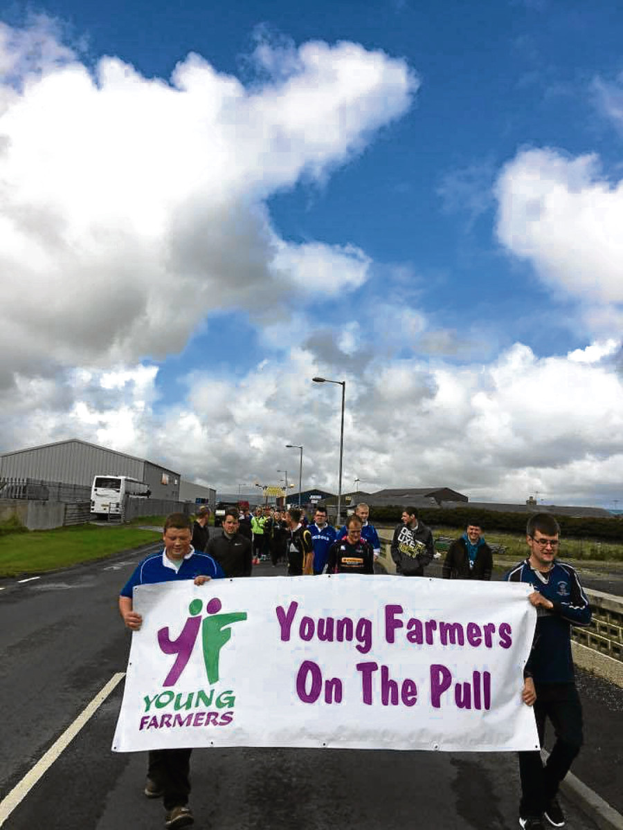 Orkney Young Farmers tractor pull