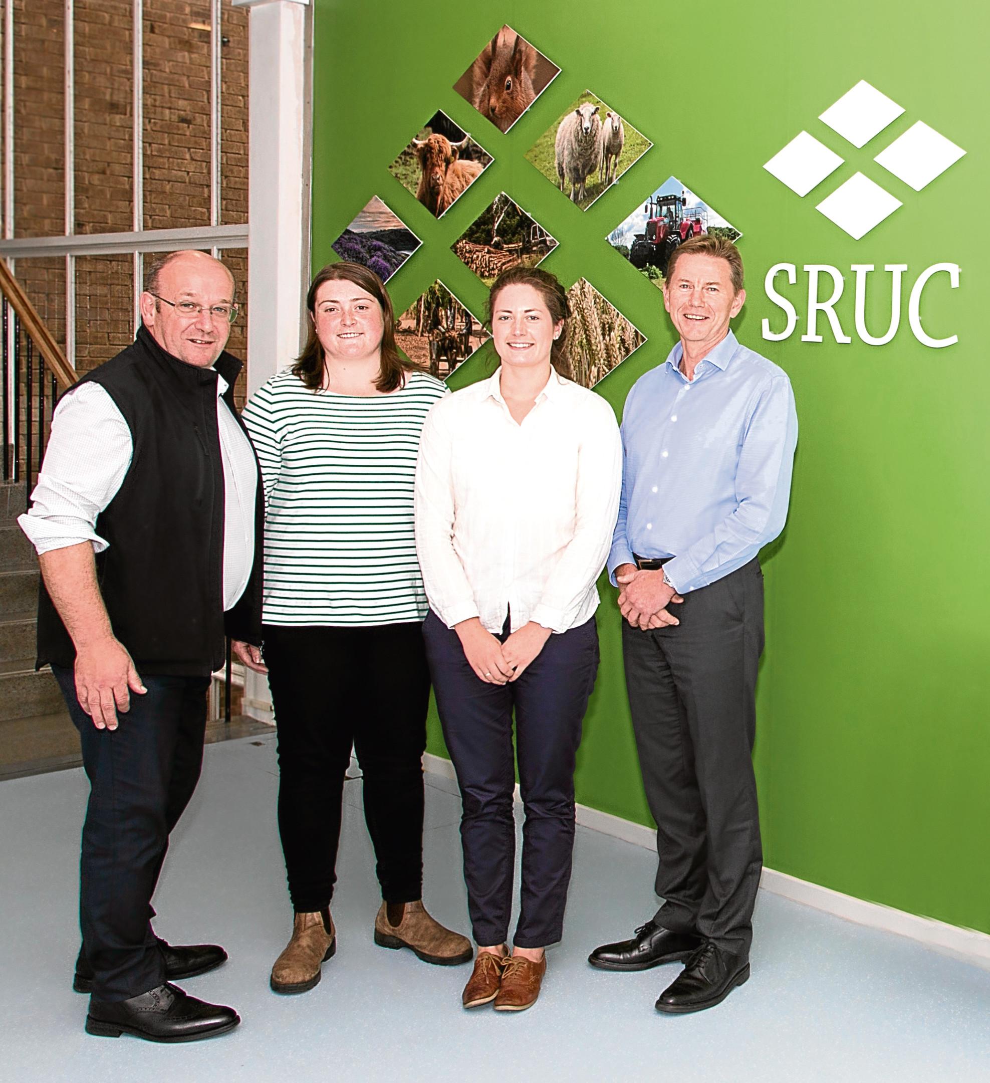 SAC Consulting's George Baikie, Iona Brisbane, Maimie Sloan and Mike Wijnberg