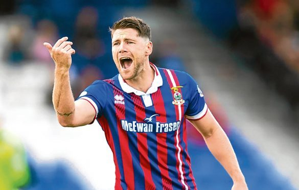 Iain Vigurs has left Caley Thistle to re-sign for former club Ross County