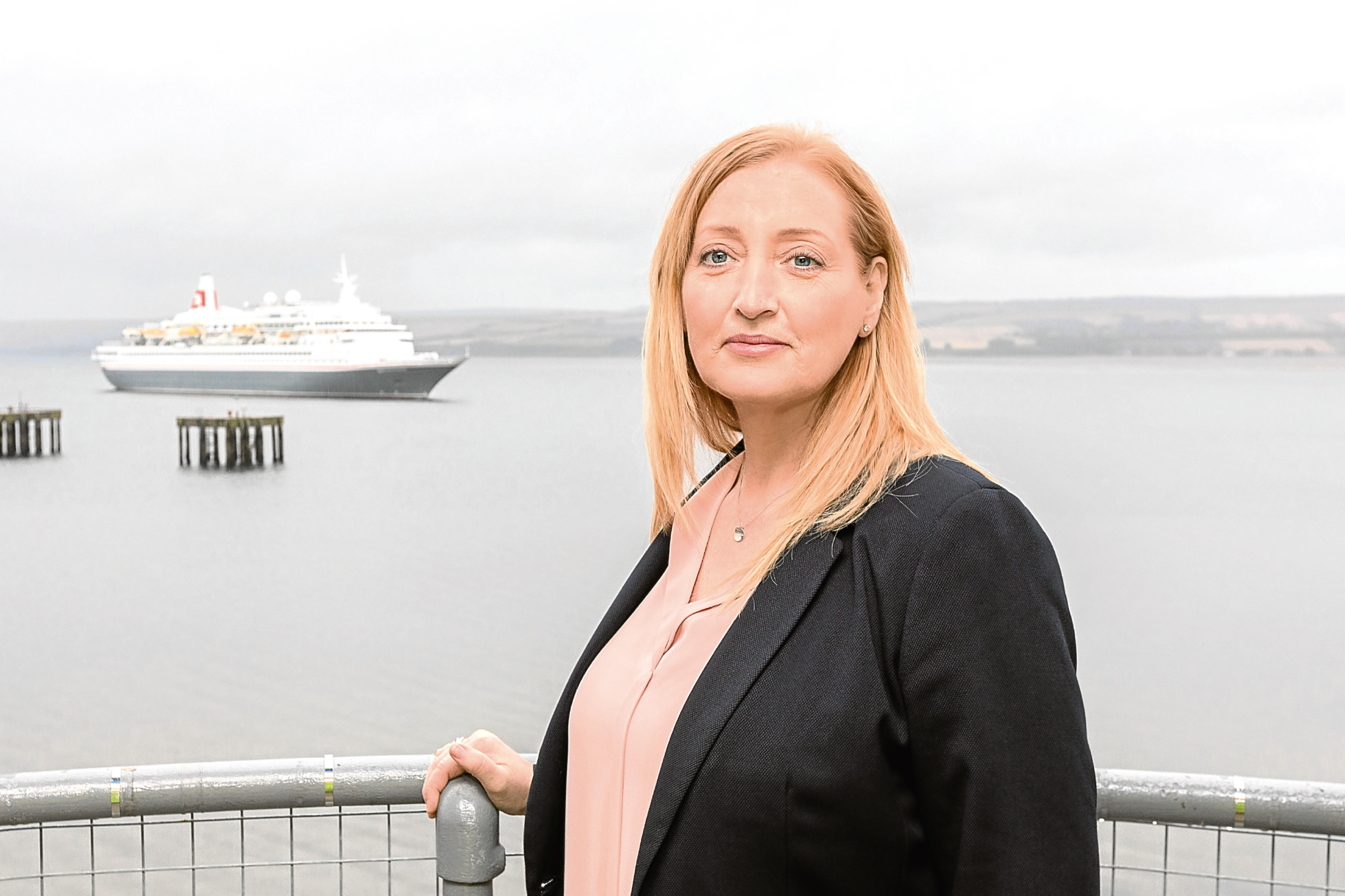 New Port of Cromarty Firth cruise manager Allison McGuire