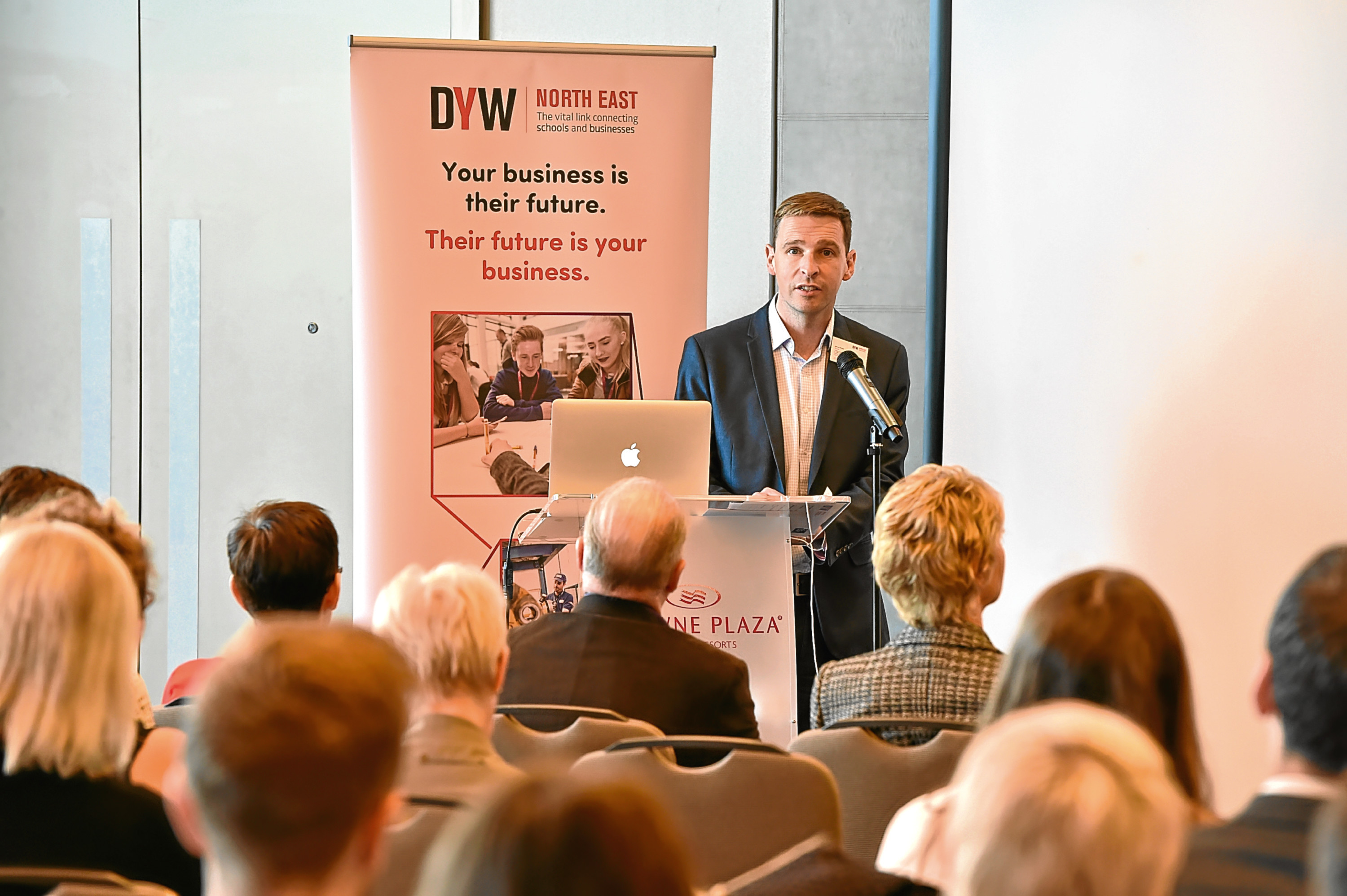James Bream, director of DYW North East Scotland. Picture by Kenny Elrick.