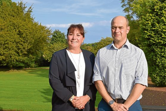Jane King and Tom Hind from AHDB