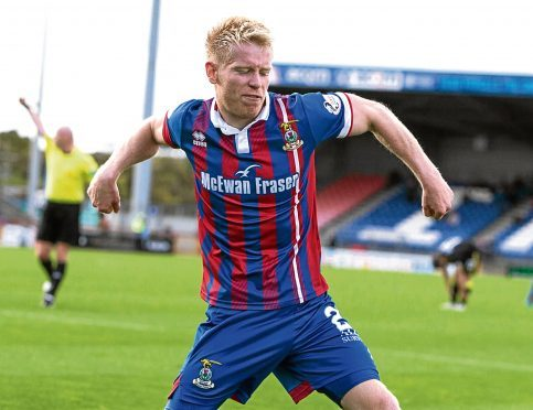 Connor Bell netted seven goals for Caley Thistle last season.
