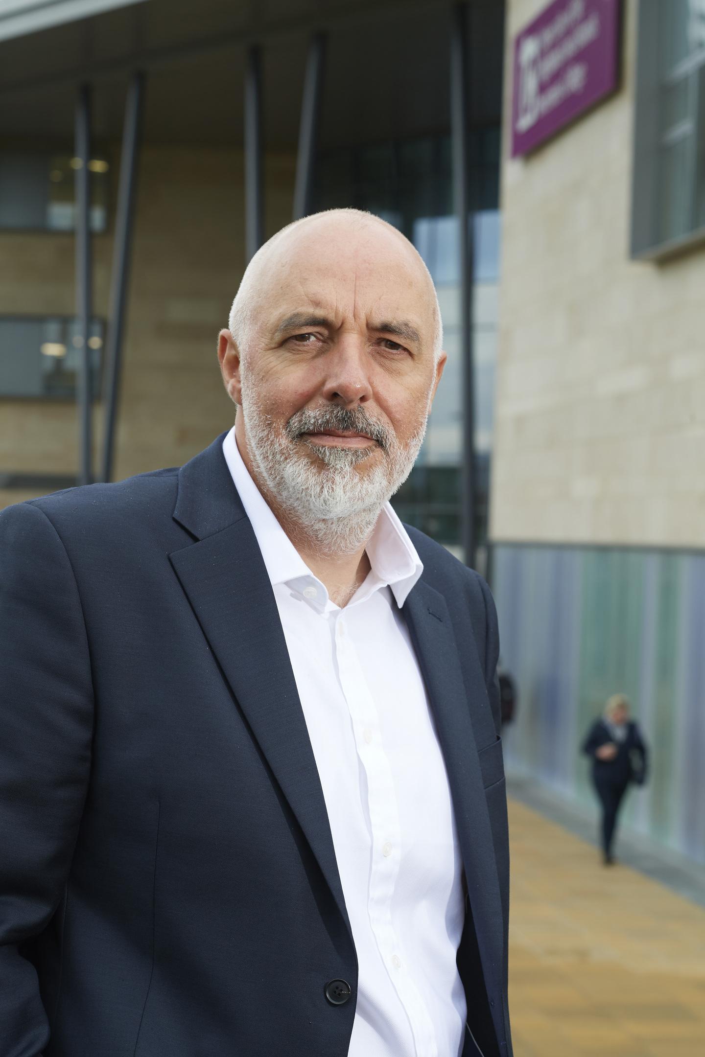 Professor Chris O'Neil, principal of Inverness College UHI