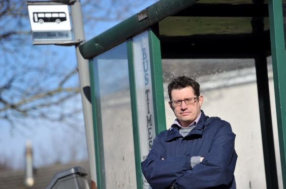 Forres councillor Aaron McLean wants a council-run bus service in Moray.