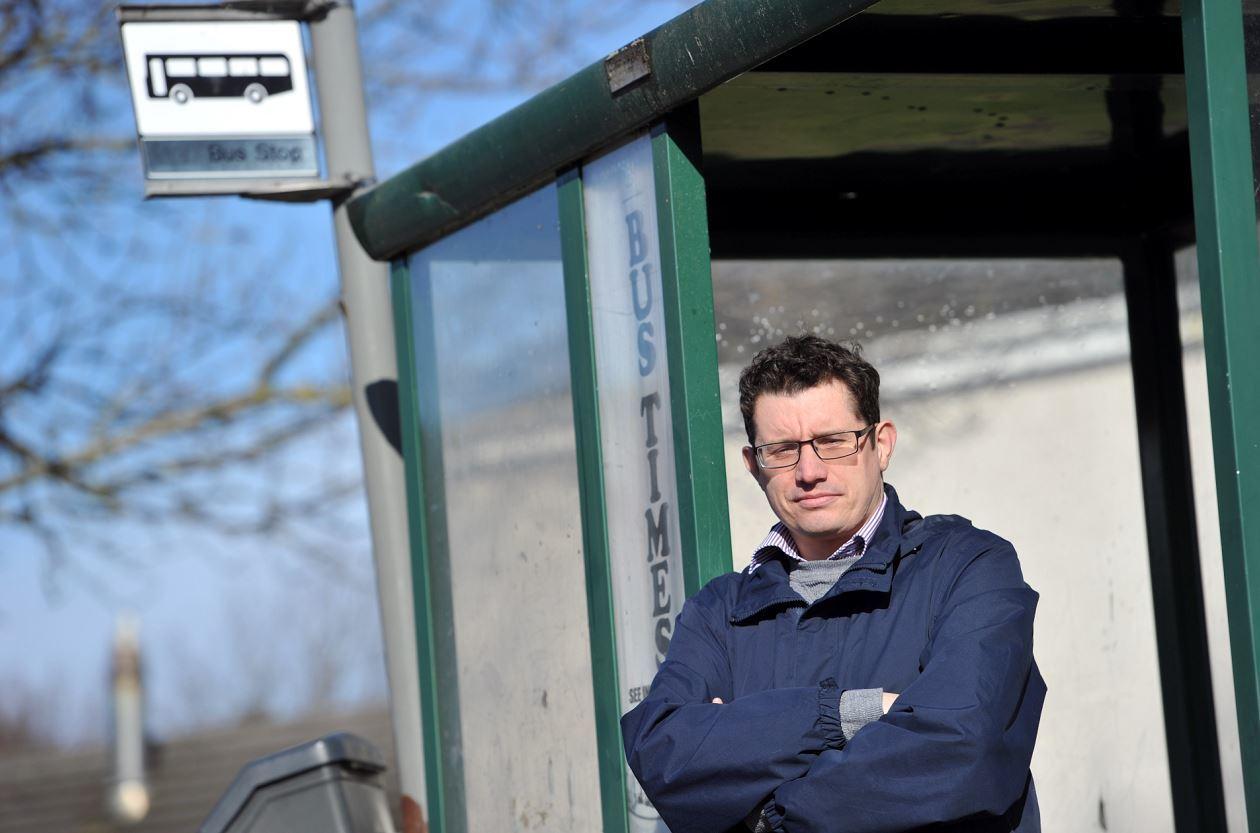 Forres councillor Aaron McLean wants a council-run bus service in Moray.