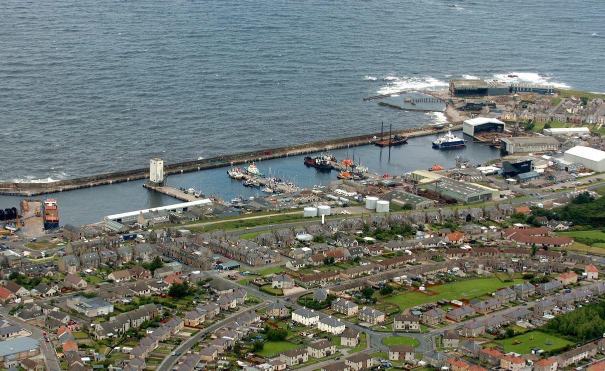 Buckie Harbour.
