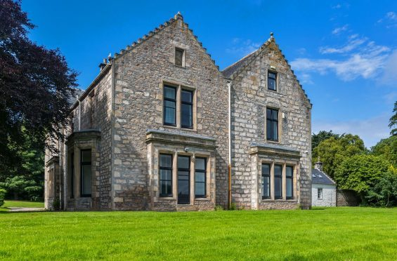 Duffus House was built as a home in the 18th Century.