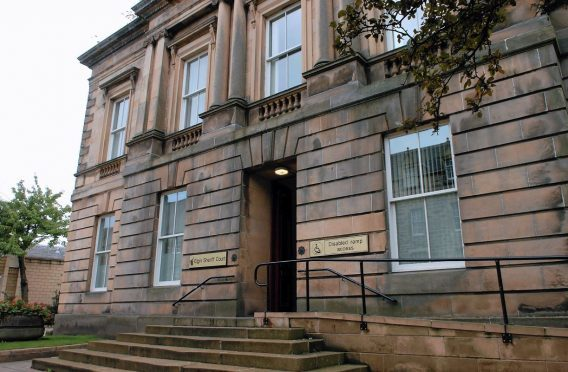The case was heard at Elgin Sheriff Court