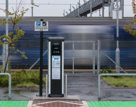 A new charger in Bathgate