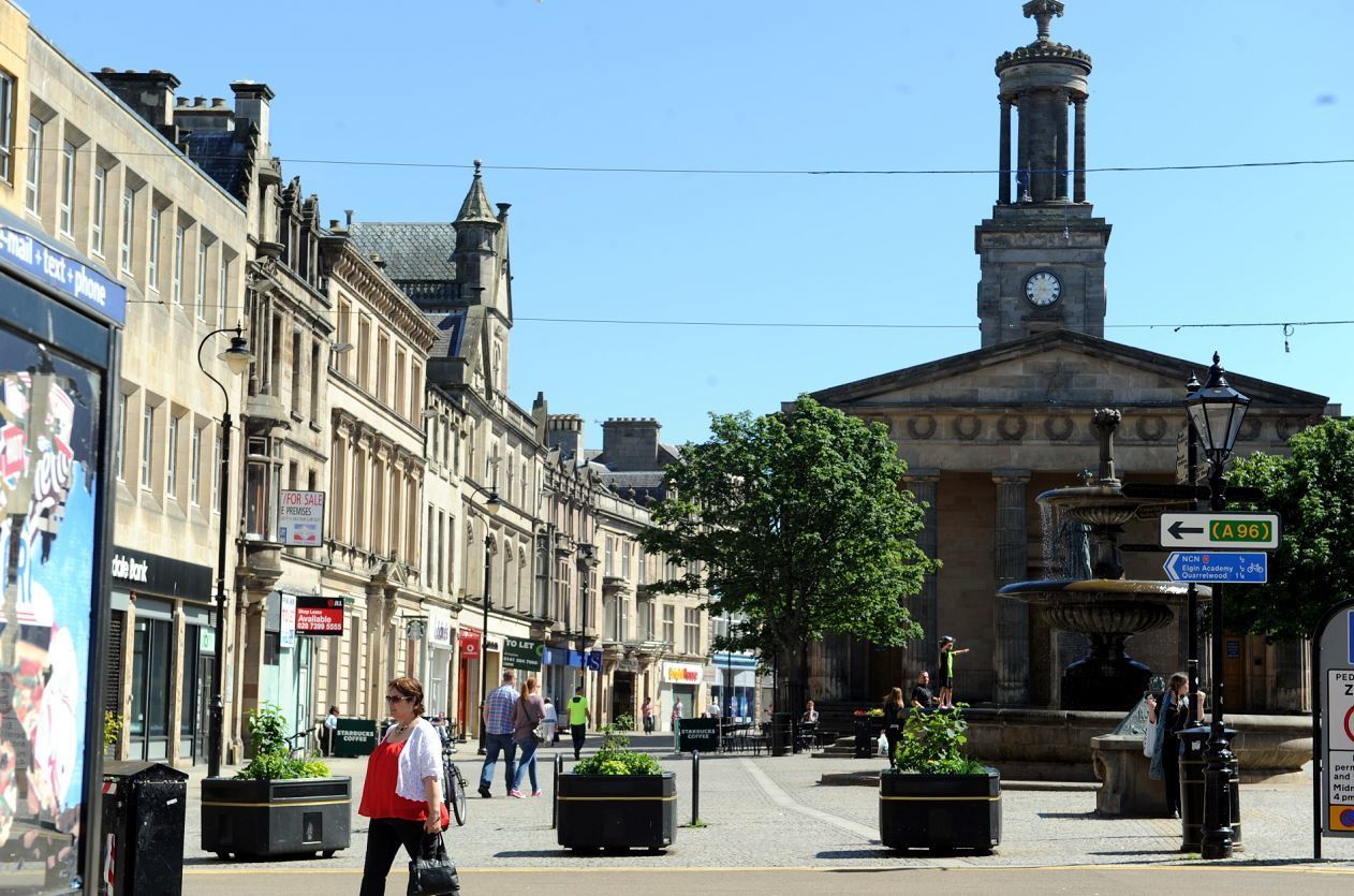 Town centres such as Elgin could face traffic restrictions and temporary road closures