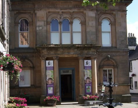 About 6,000 people attend the Falconer Museum in Forres every year.