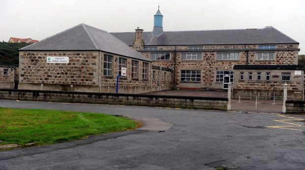 The contamination levels were highest at Findochty Primary School.