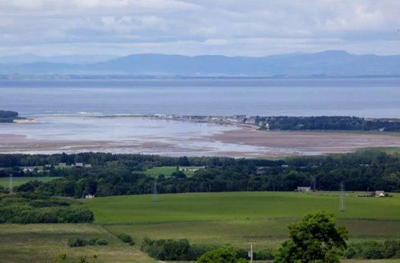 Findhorn Bay.