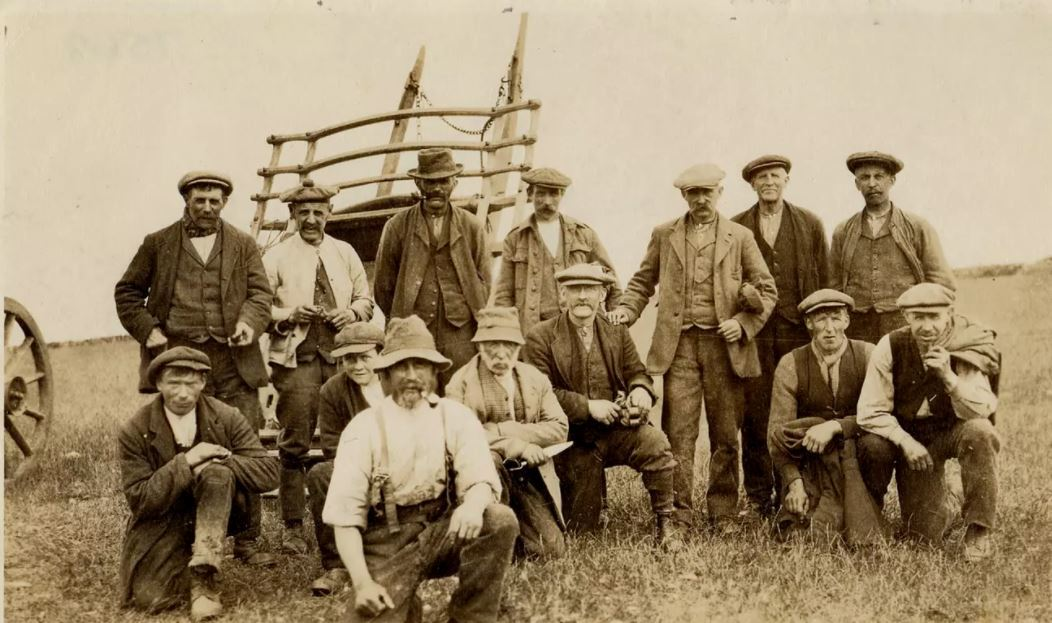 Old photographs from the region's agricultural past will be on display.