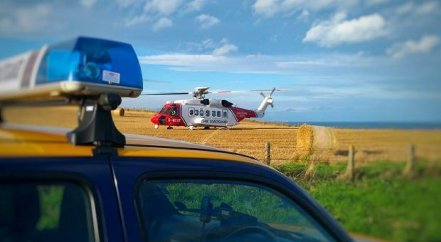 Pic courtesy of HM Coastguard Mearns and Angus