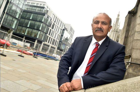 Aberdeen councillor Taqueer M Malik.