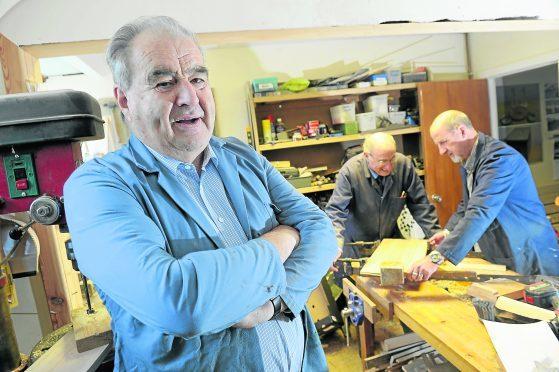 Chairman Alan Michael. Pic by Sandy McCook.