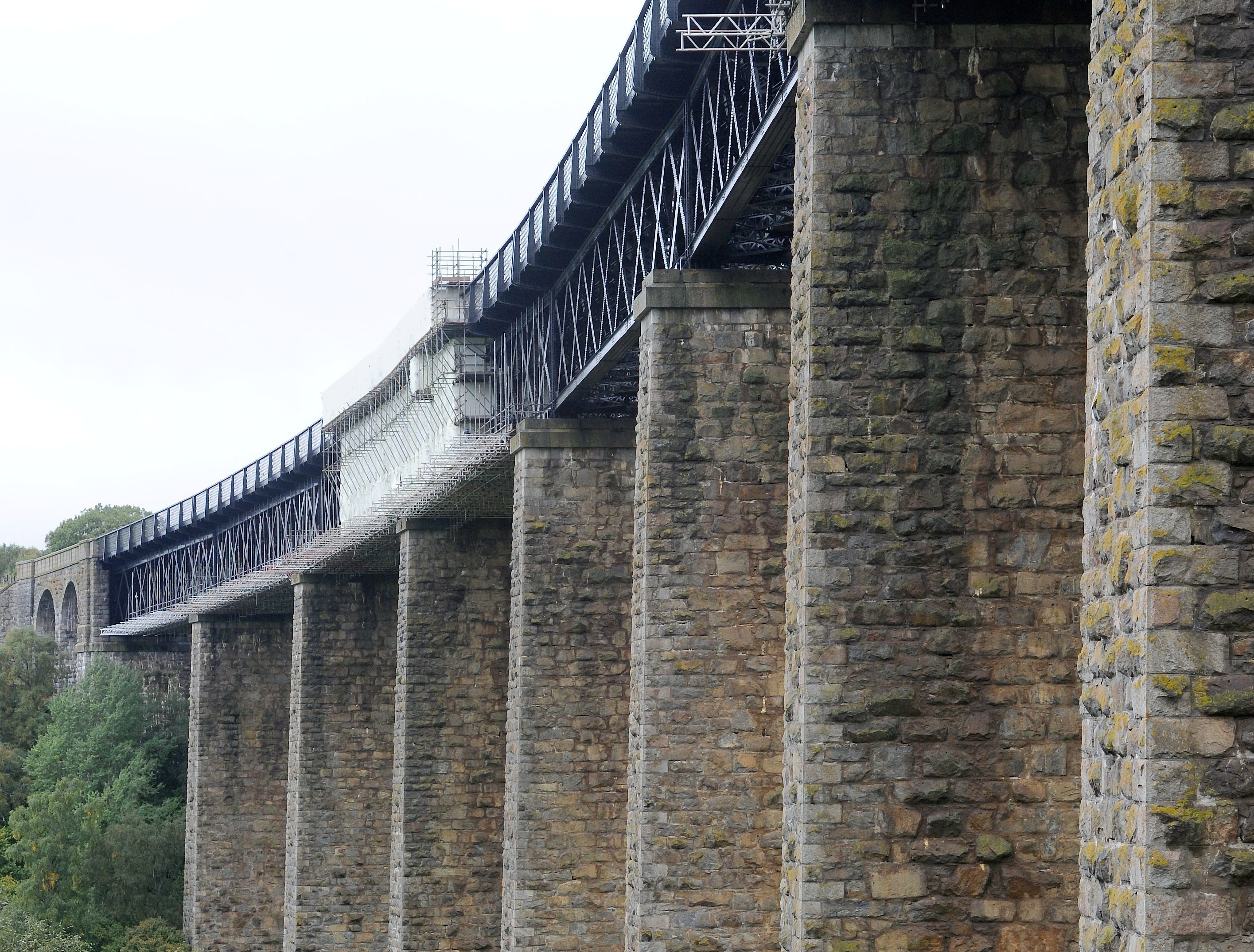 The Findhorn Viaduct. Pics and video by Sandy McCook