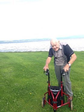 Roderick Sutherland, of Tain, died in hospital following the collision