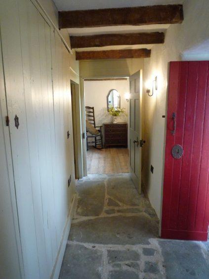 Hallway after.