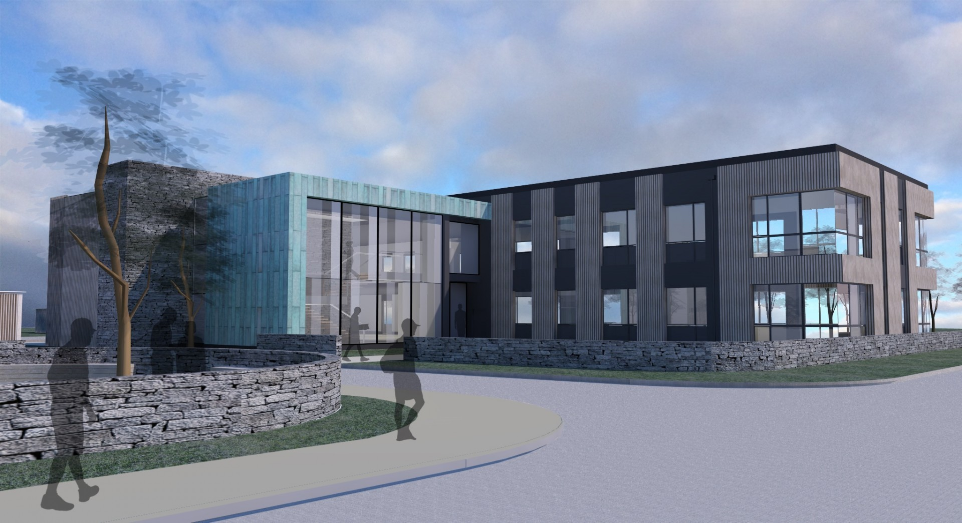 The new building – to be called Solasta House - will be a twin to the existing Aurora House, which was completed two years ago.