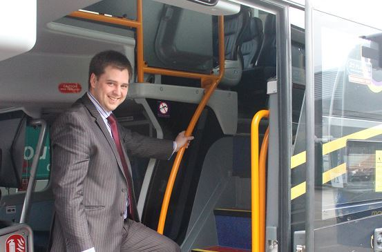 Mark Whitelocks is managing director of Stagecoach North Scotland.