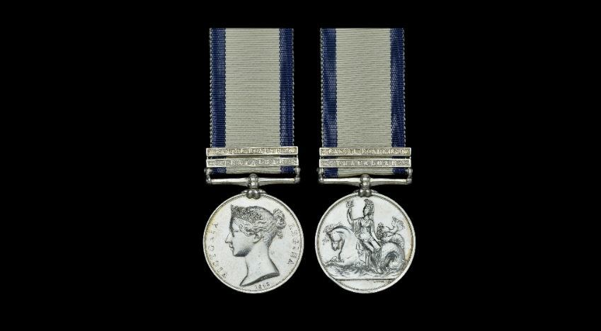David Sharp's medals which sold at auction for £10,000