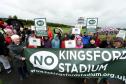 The No Kingsford Stadium group