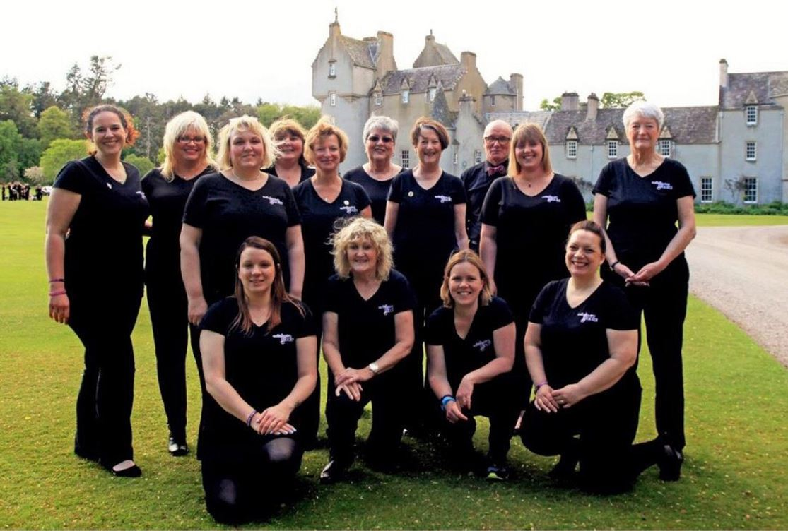 The Kinloss Military Wives Choir will be recording vocals on the new album.