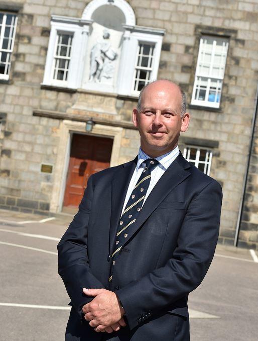Simon Mills, head of Robert Gordon's College.