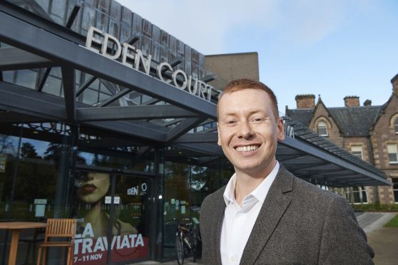 Eden Court Chief Executive James Mackenzie-Blackman