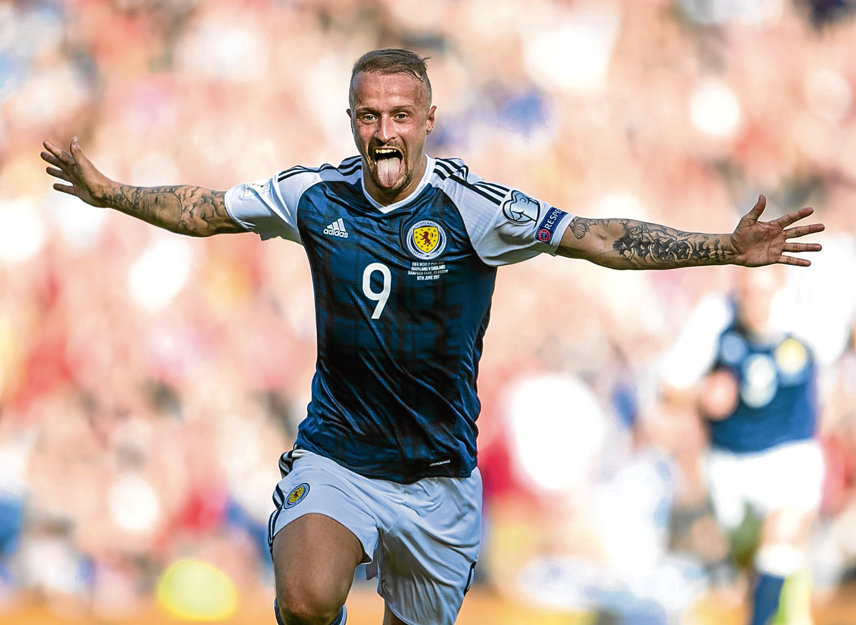 Leigh Griffiths can be the missing piece of the puzzle for Scotland, Knox says.