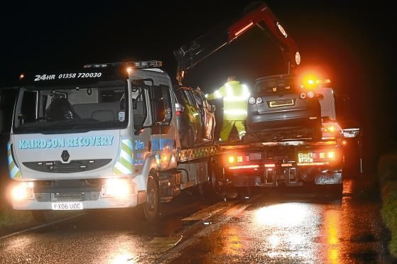The road was closed for several hours on Friday to allow for investigations