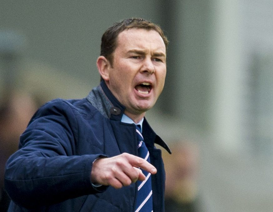 Former Ross County manager Derek Adams