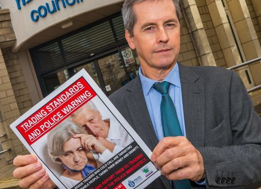 Peter Adamson, manager of the Moray Council trading standards team.