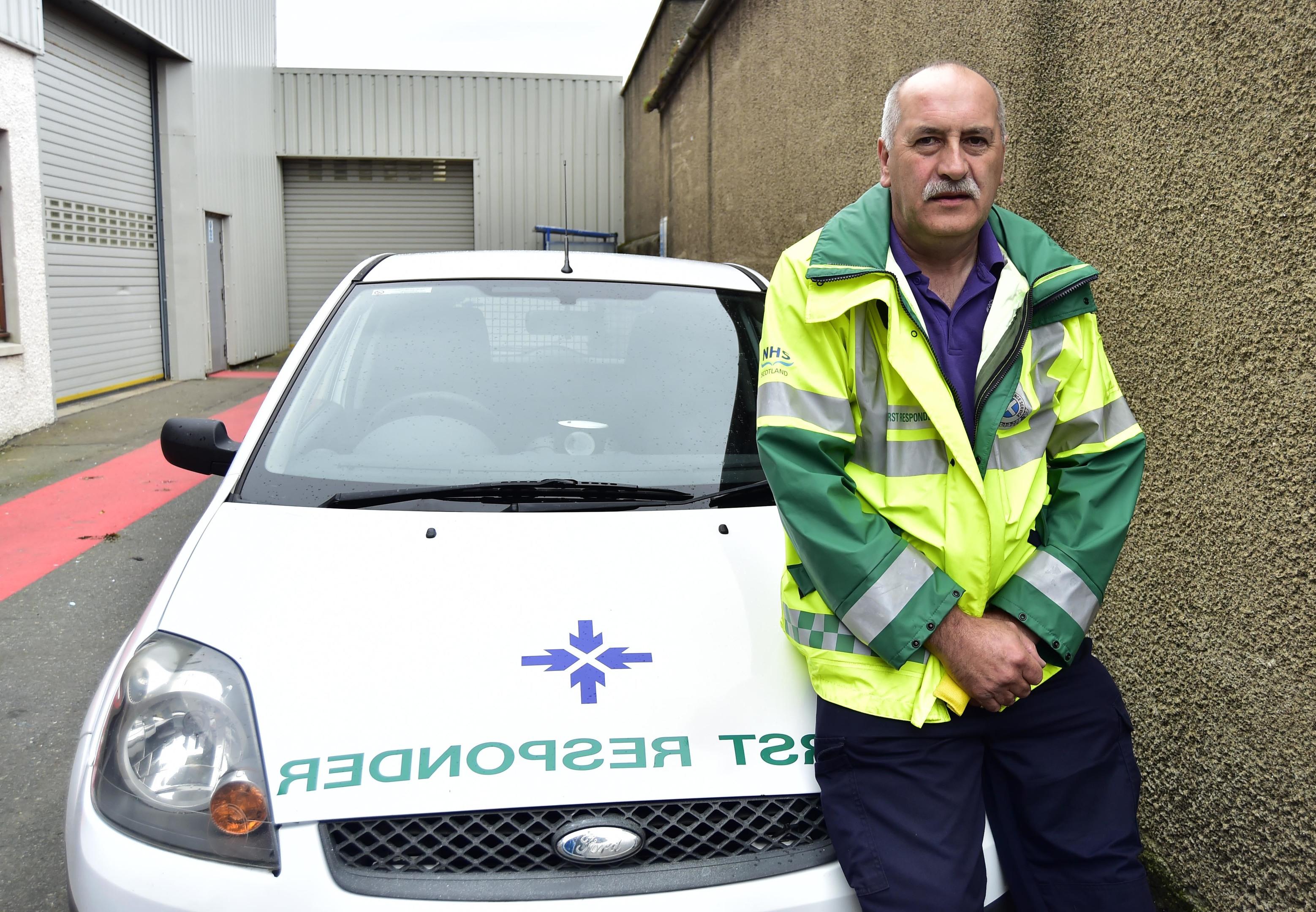 Fraserburgh first responder Donny Harper