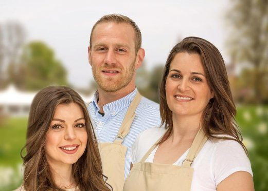 Finalists (left to right) Kate Lyon, Steven Carter-Bailey and Sophie Faldo