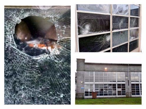 Anyone with information about the vandalism is asked to contact police