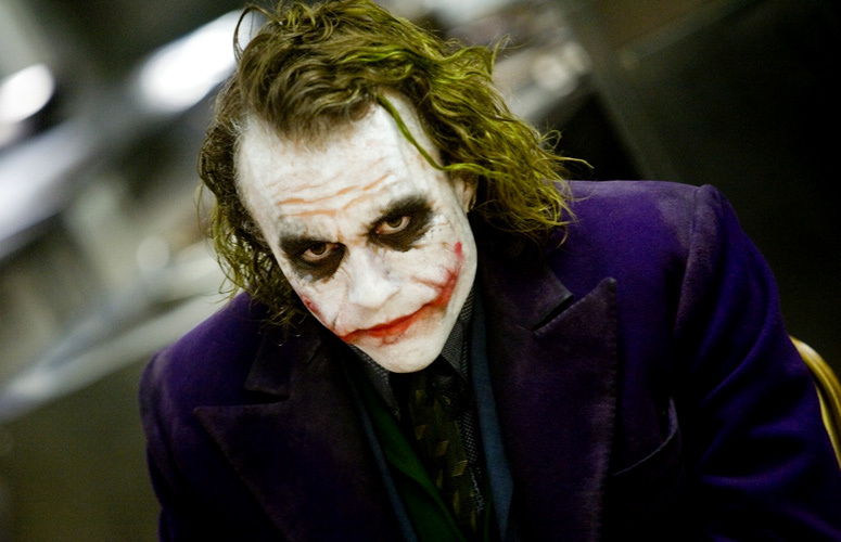 The assault involved a person dressed as the Batman villain.
