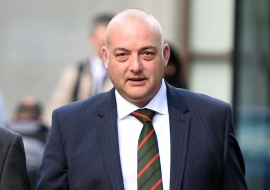 Former Vattenfall site manager, Roger Hammond has won a wrongful dismissal case against the energy giant. (Picture: Jim Irvine)