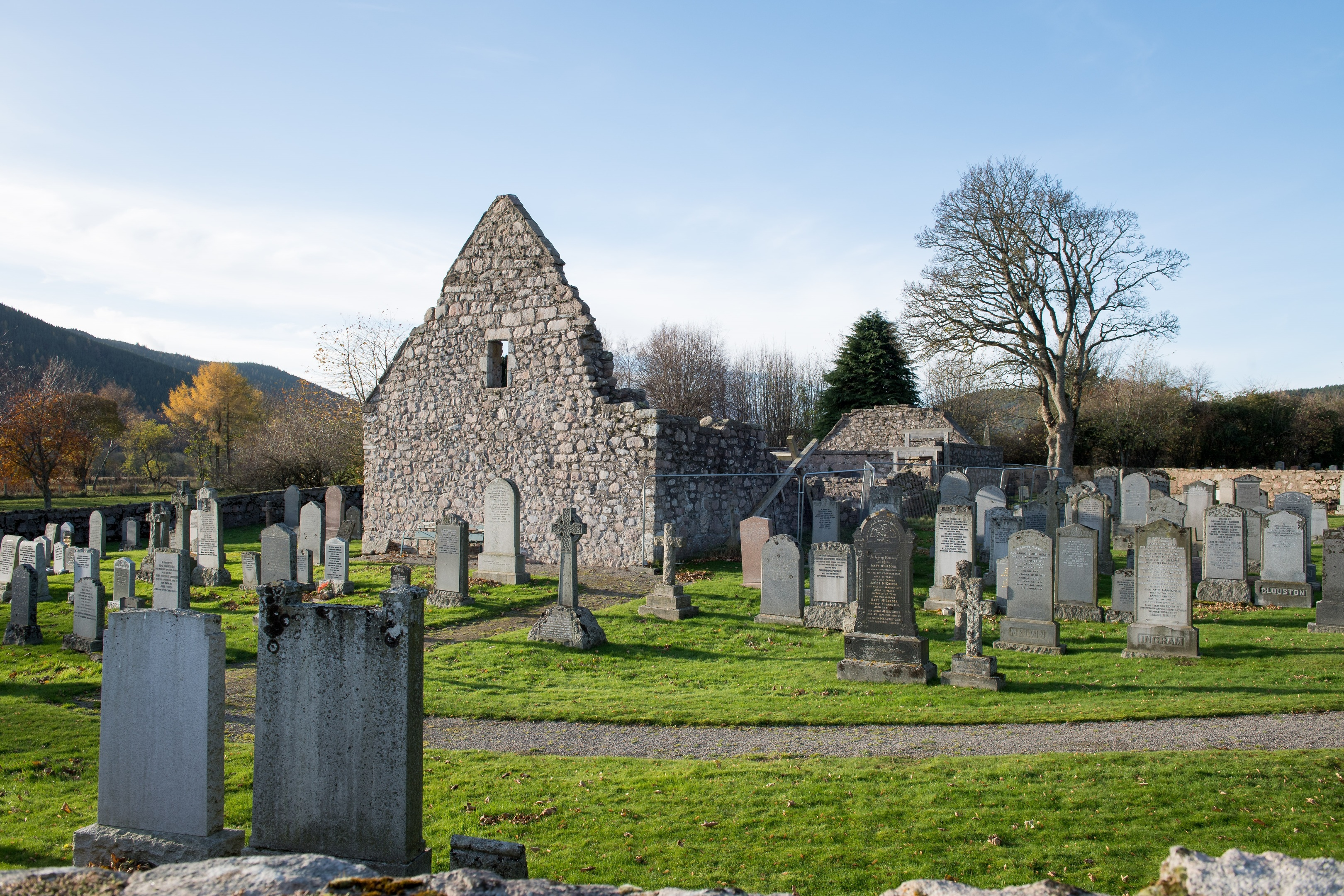 The Duke of Rothesay, is leading a project to breathe new life into the Tullich Kirkyard. (Picture: Richard Frew)