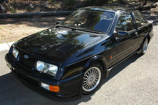 The black Cosworth.