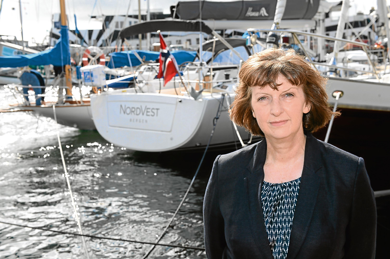 Sandra Laurenson, Lerwick Port Aurthority